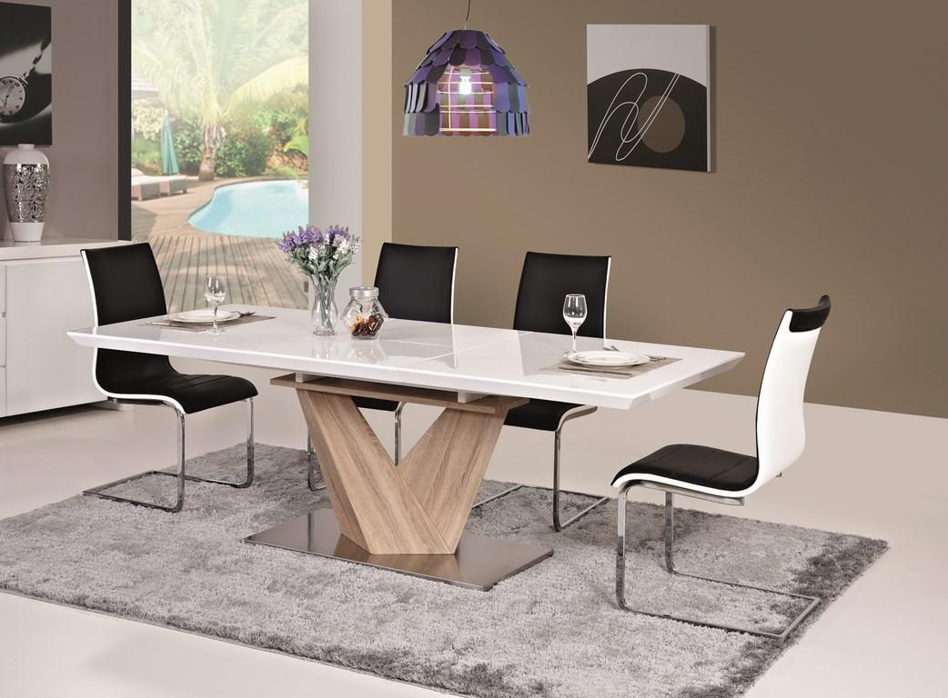 Jedálenský stôl ALARAS rozkladací 160x90