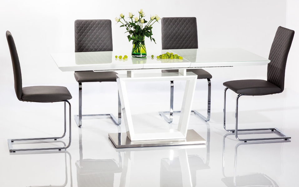 Jedálenský stôl LAUREN rozkladací