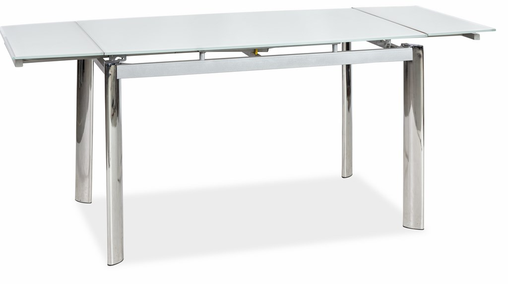 Jedálenský stôl GD-020 rozkladací biely