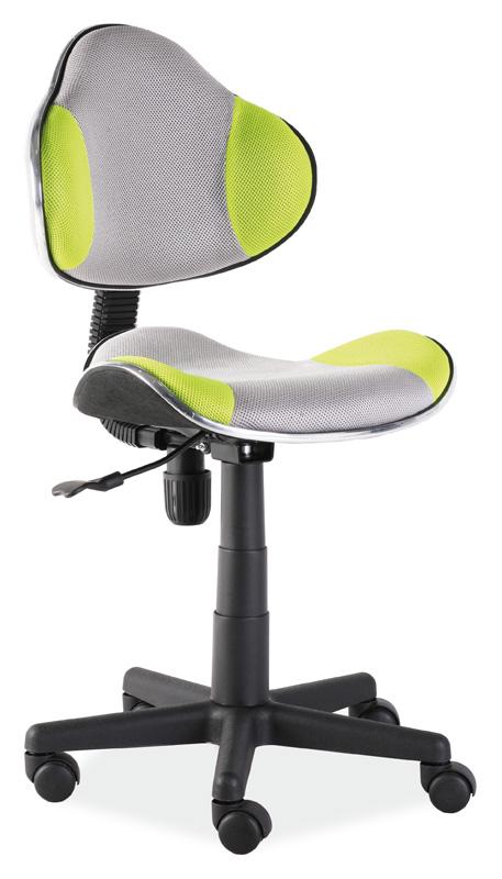 Kancelárska stolička Q-G2 šedá/zelená