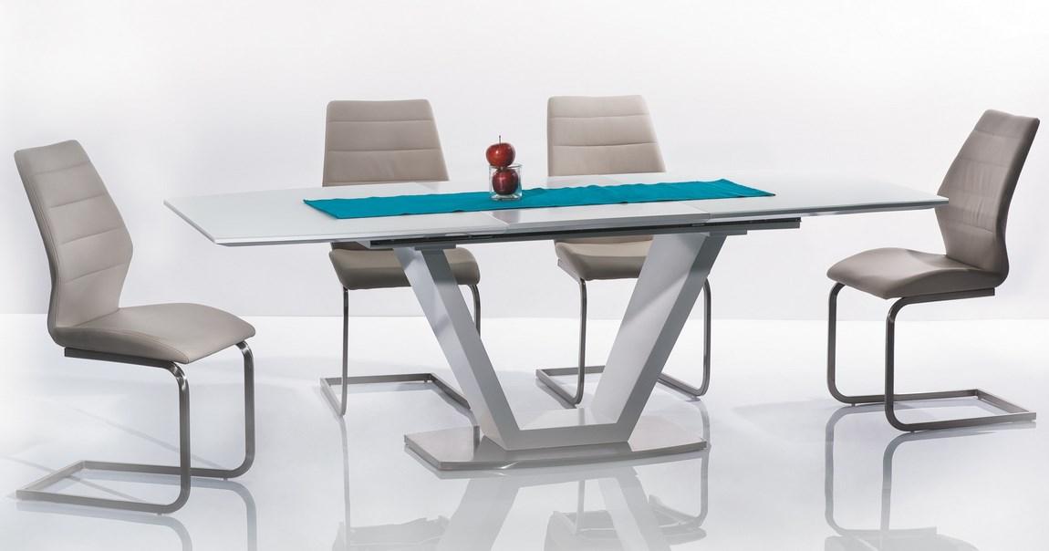 Jedálenská čalúnená stolička KEVIN cappuccino