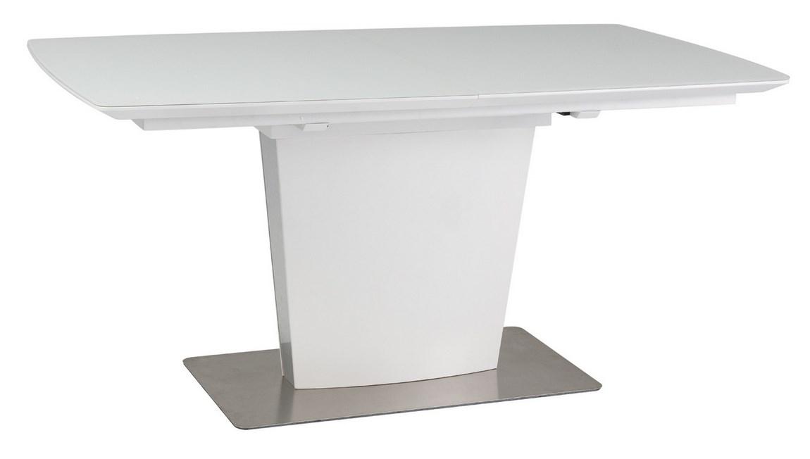 Jedálenský stôl FELIPE biela rozkladací