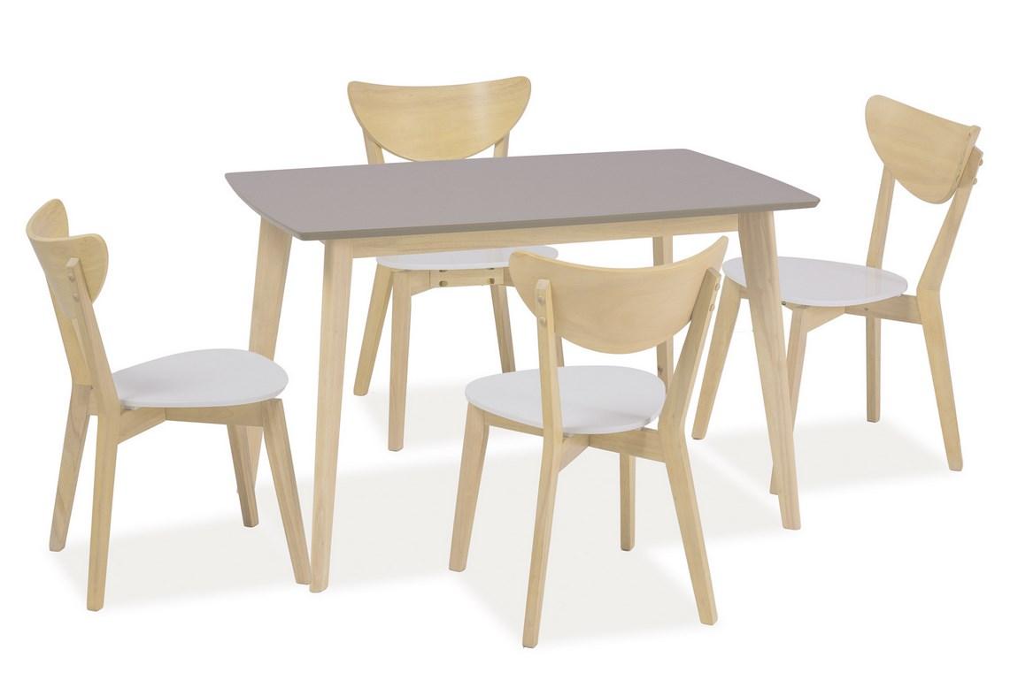 Jedálenský stôl COMBO šedý
