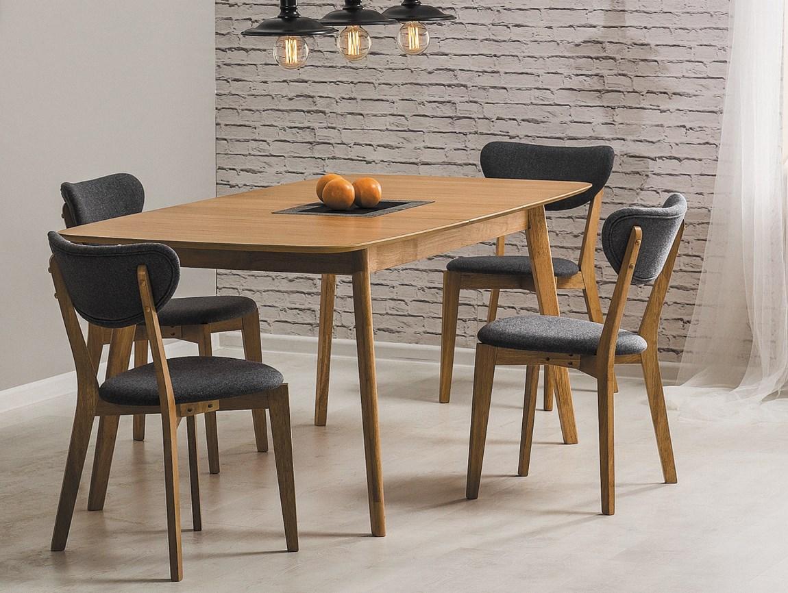 Jedálenský stôl rozkladací FELICIO dub
