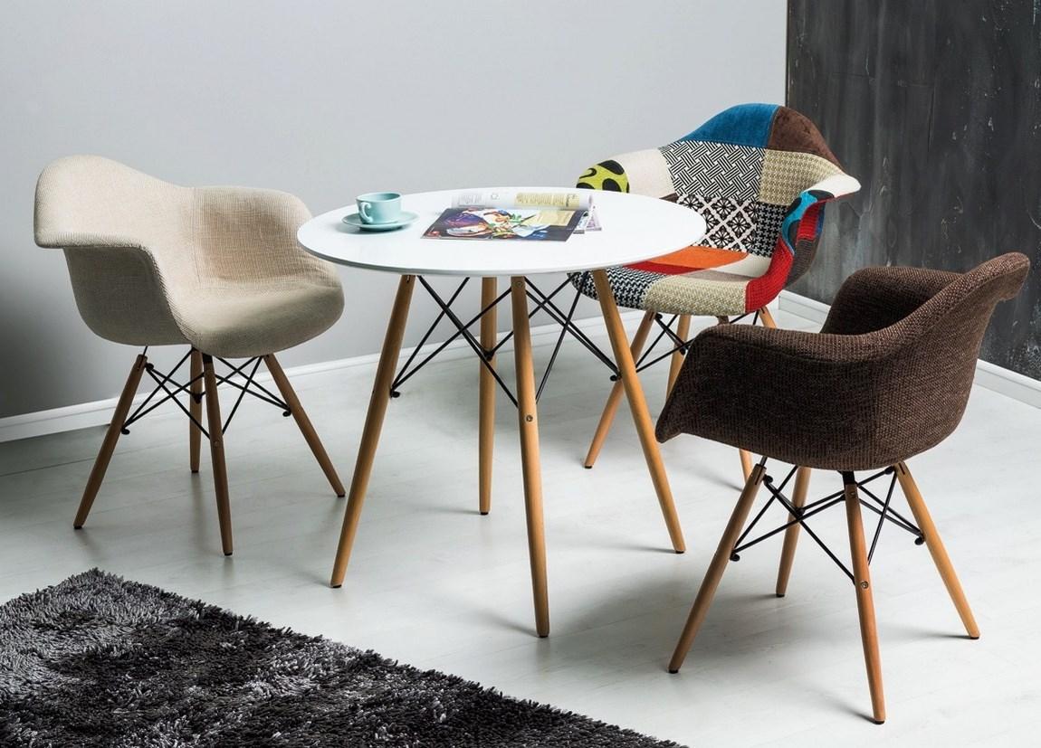 Jedálenský stôl guľatý SOHO 80