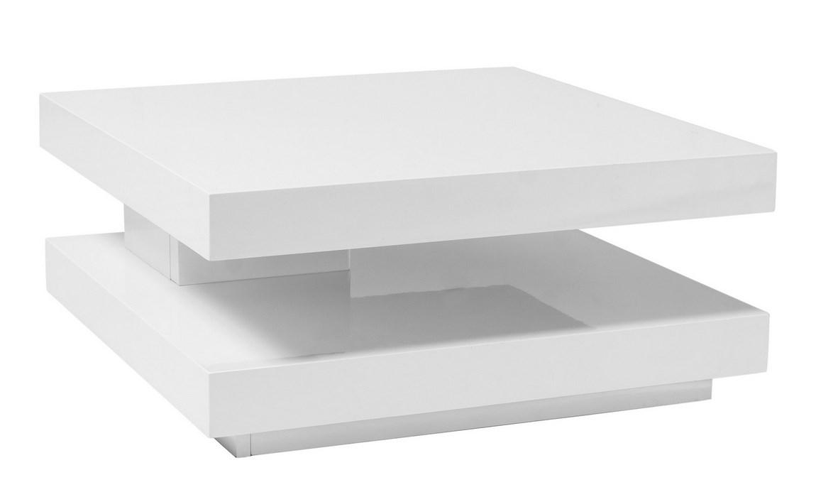 Konferenčný stolík FALON biely rozkladací