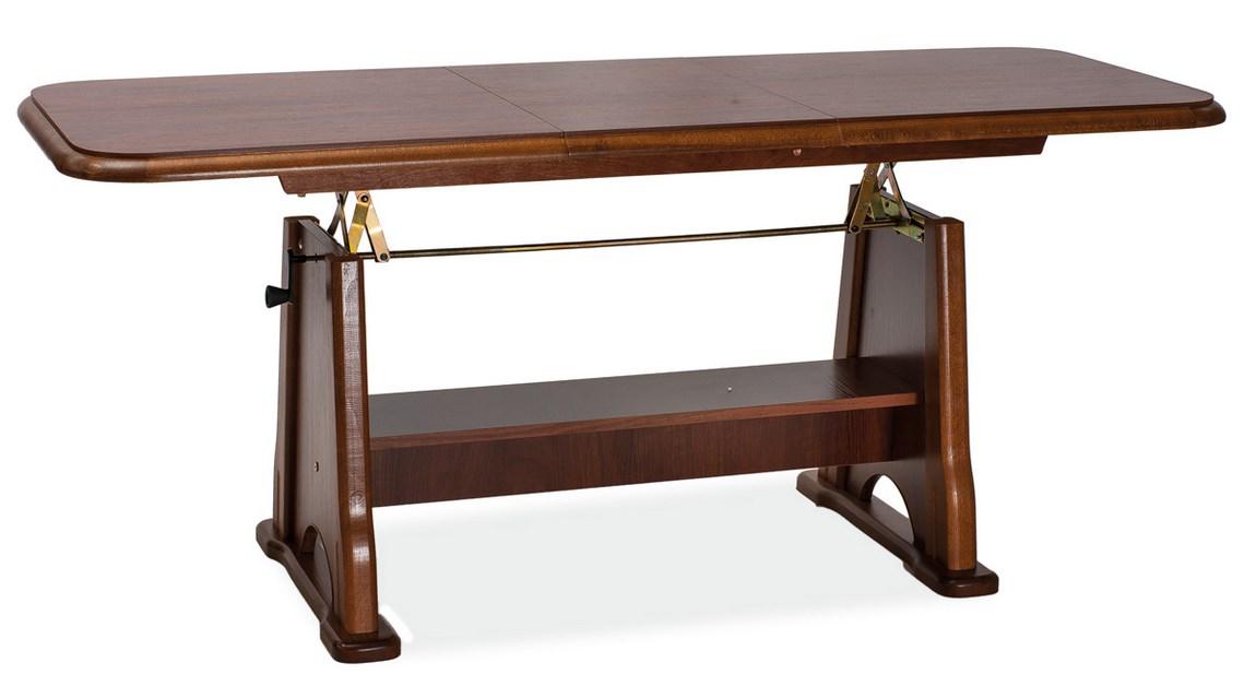 Jedálenský/konferenčný stôl BEATA rozkladací - kaštan