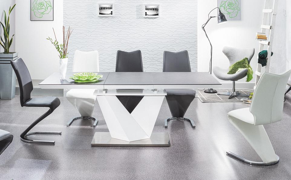 Jedálenský stôl ALARAS II rozkladací 140x85
