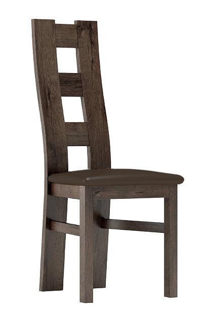 Čalúnená stolička I jasan tmavý/Victoria 36