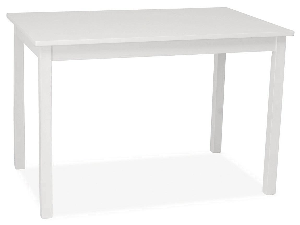 Jedálenský stôl FIORD biely