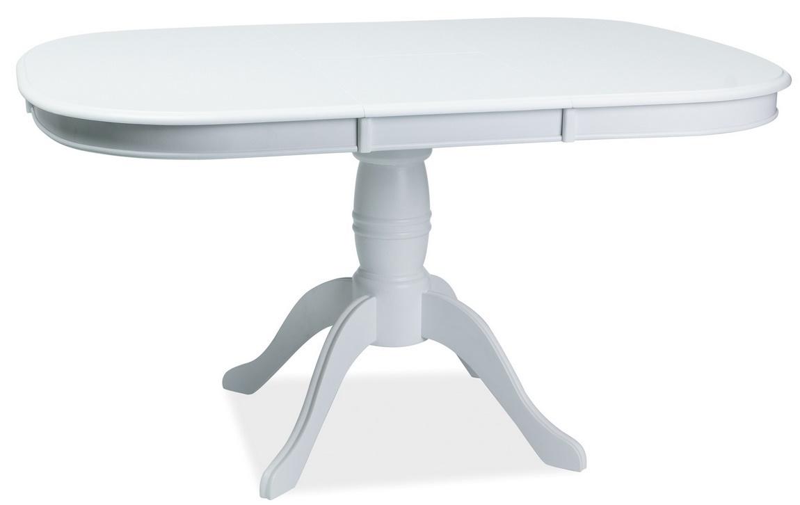 Jedálenský stôl FLORENCJA rozkladací biely