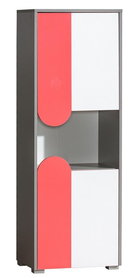 FUTURO F4 skrinka grafit/biela/viac farieb