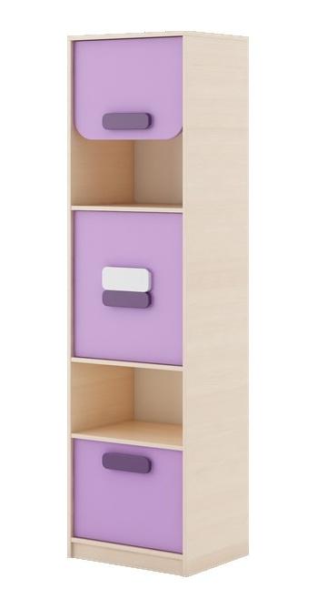GUSTO G-05 kombinovaná skříňka dub kremona/lavenda