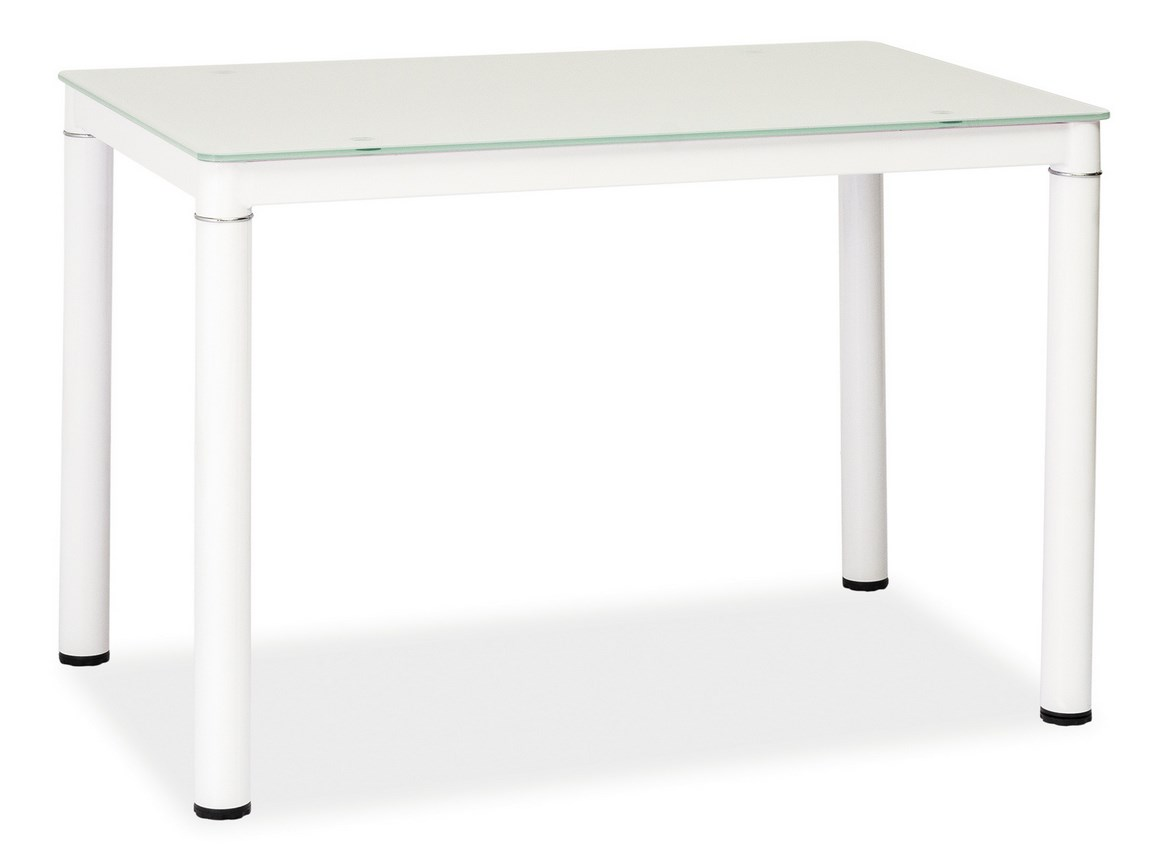Jedálenský stôl GALANT biely 60x100