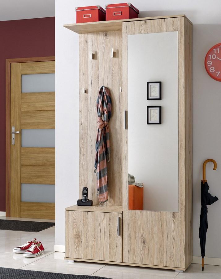 Predsieňová stena CUBA ( vešiak, botník, zrkadlo, skriňa )