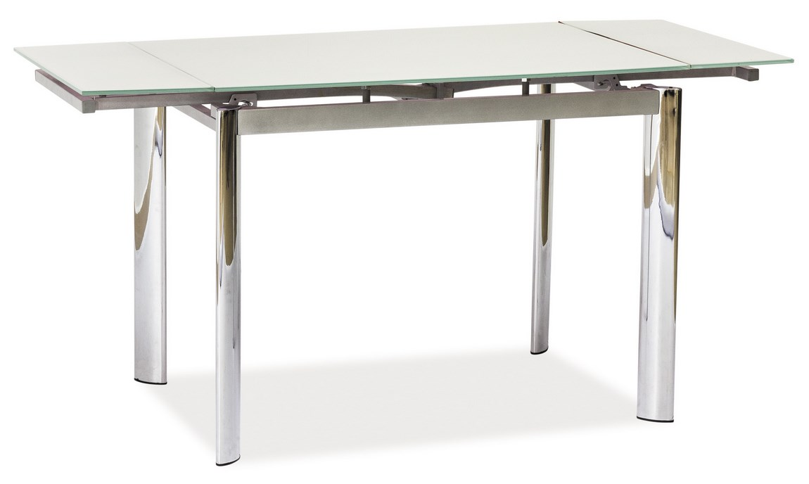 Jedálenský stôl GD-019 rozkladací biely