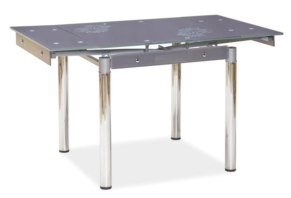 Jedálenský stôl GD-082 rozkladací šedý
