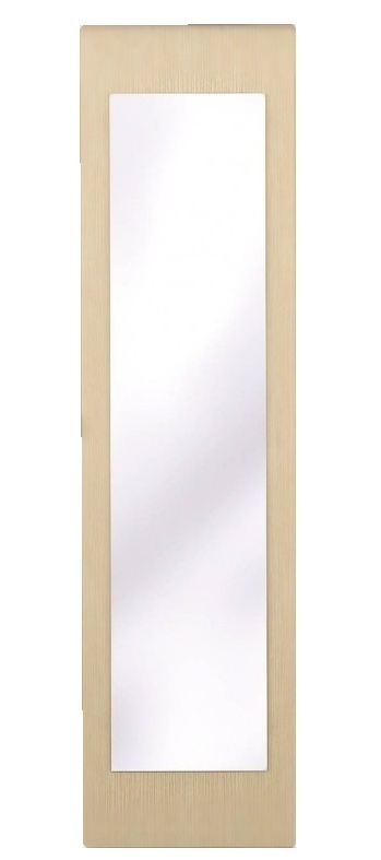 Posuvné dveře se zrcadlem ke skříni GRETA 1 ks dub Belfort