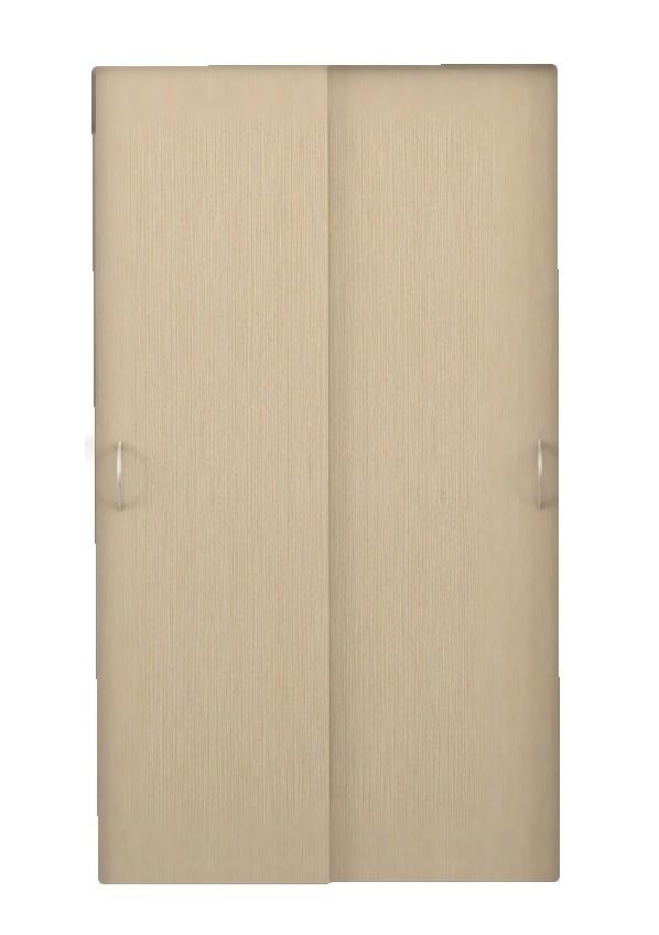 Posuvné dveře ke skříni GRETA 2 ks dub Belfort