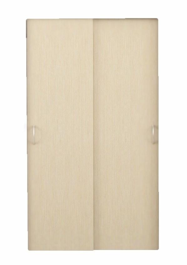 Posuvné dveře ke skříni GRETA 2 ks jasan světlý