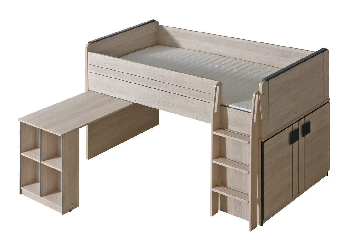 GIMMI G15 patrová postel se stolkem