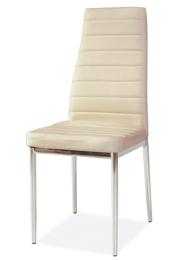 **Jídelní čalouněná židle H-261 krémová