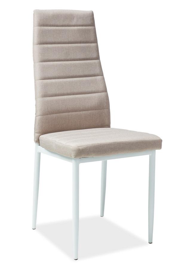 Jedálenská čalúnená stolička H-266 béžová