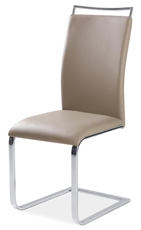 Jedálenská čalúnená stolička H-334 tmavý béž