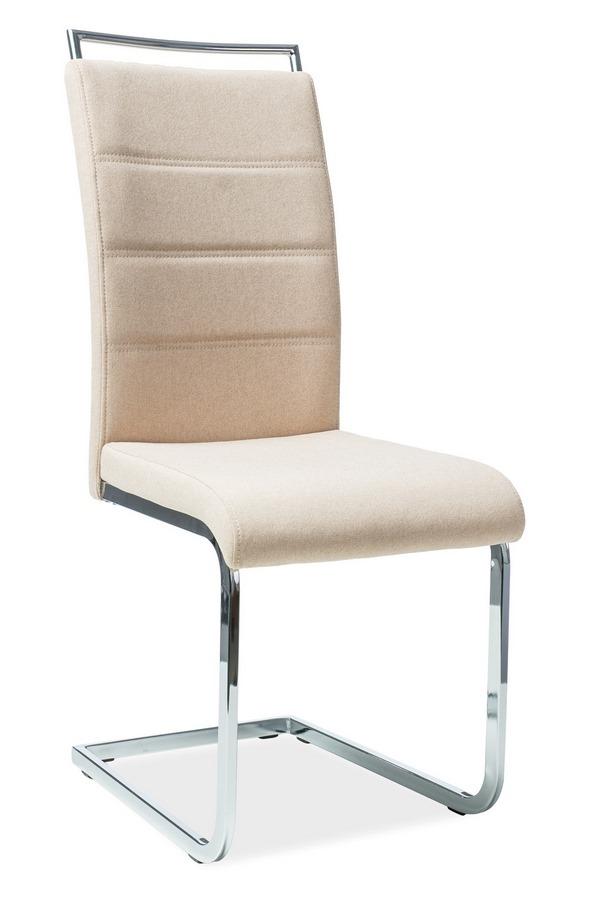 Jedálenská čalúnená stolička H-441 béžová látka