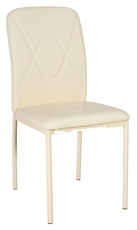 Jedálenská čalúnená stolička H-623 krémová