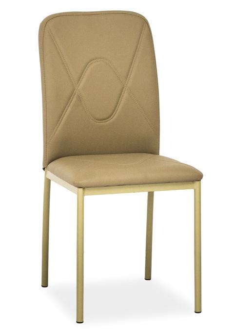 Jedálenská čalúnená stolička H-623 tmavě béžová