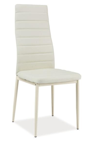 Jídelní čalouněná židle H-261 Bis krém/krém