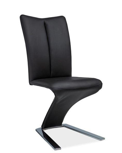 Jídelní čalouněná židle H-040 černá