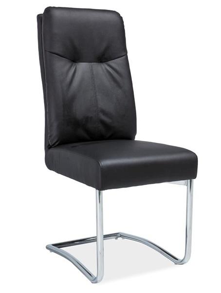Čalúnená stolička H-340 černá