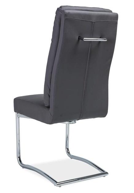 Čalúnená stolička H-340 šedá