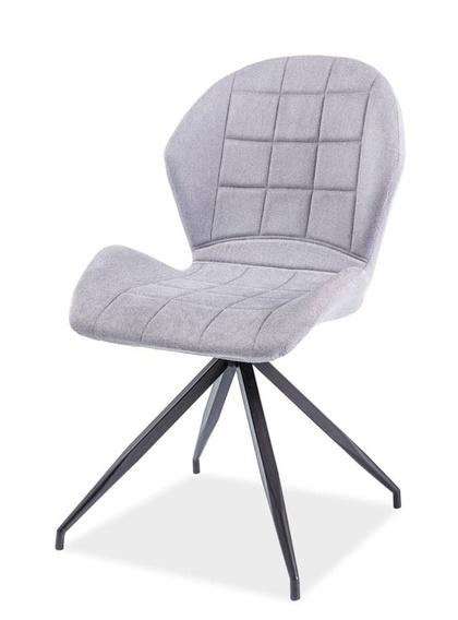 Jídelní čalouněná židle HALS II světlá šedá