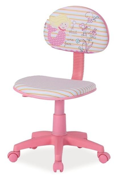 Kancelárska stolička HOP 1 růžová