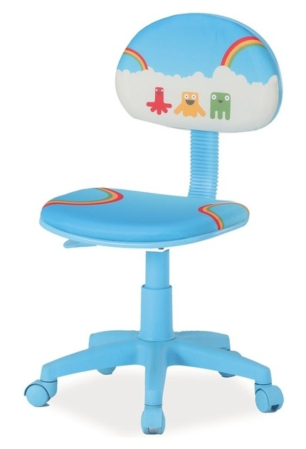 Kancelárska stolička HOP 2 modrá