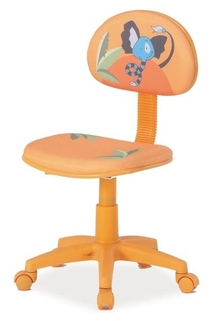 Kancelárska stolička HOP 3 oranžová