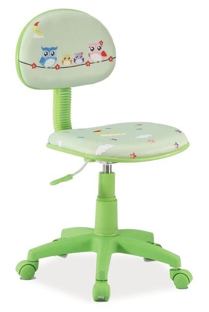 Kancelárska stolička HOP 5 zelená/šedá