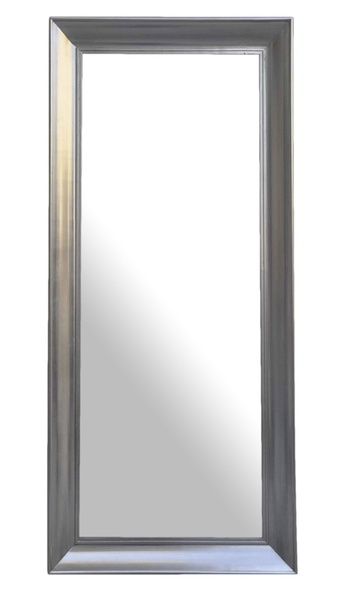 Zrkadlo HORIZON 180x80 strieborná