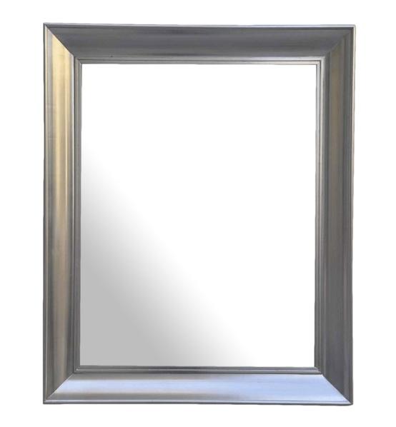 Zrkadlo HORIZON 110x90 strieborná