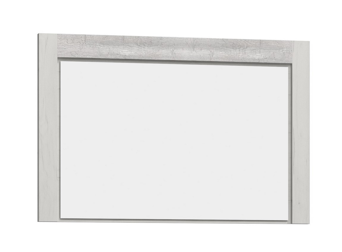 zrkadlo INDIANAPOLIS I-12 jasan bílý