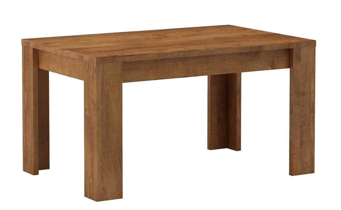 jedálenský stôl rozkládací KORA 160x90 sv. jasan