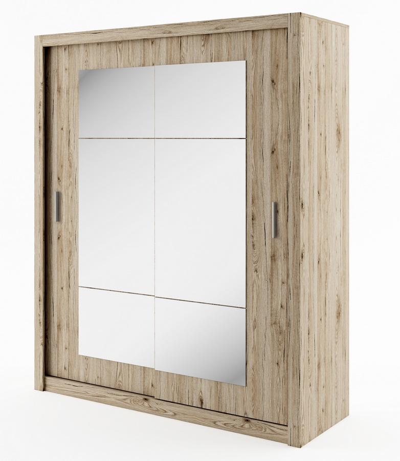 šatníková skriňa IDEA 02 sanremo zrkadlo 180 cm