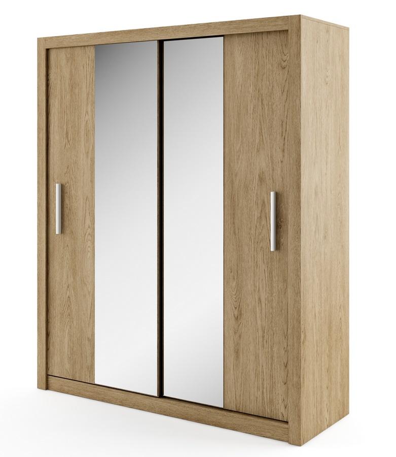 šatníková skriňa IDEA 03 shetland zrkadlo 180 cm