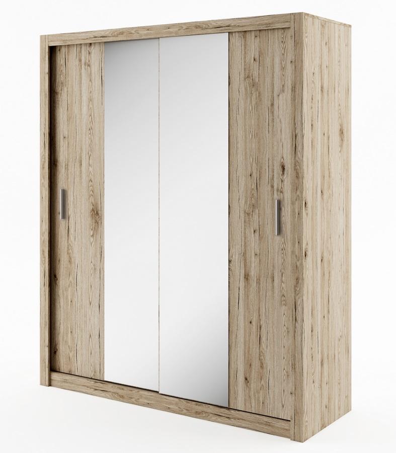 šatníková skriňa IDEA 03 sanremo zrkadlo 180 cm
