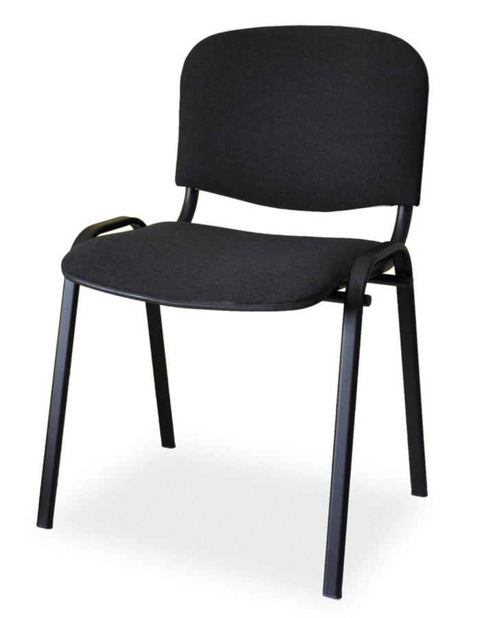 Čalunená Stolička ISO čierna/čierna
