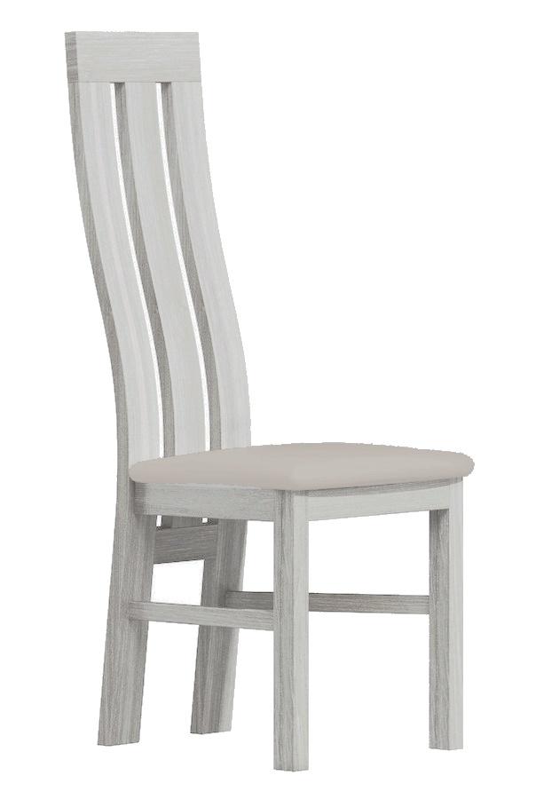 Čalúnená stolička II biela/Victoria 20