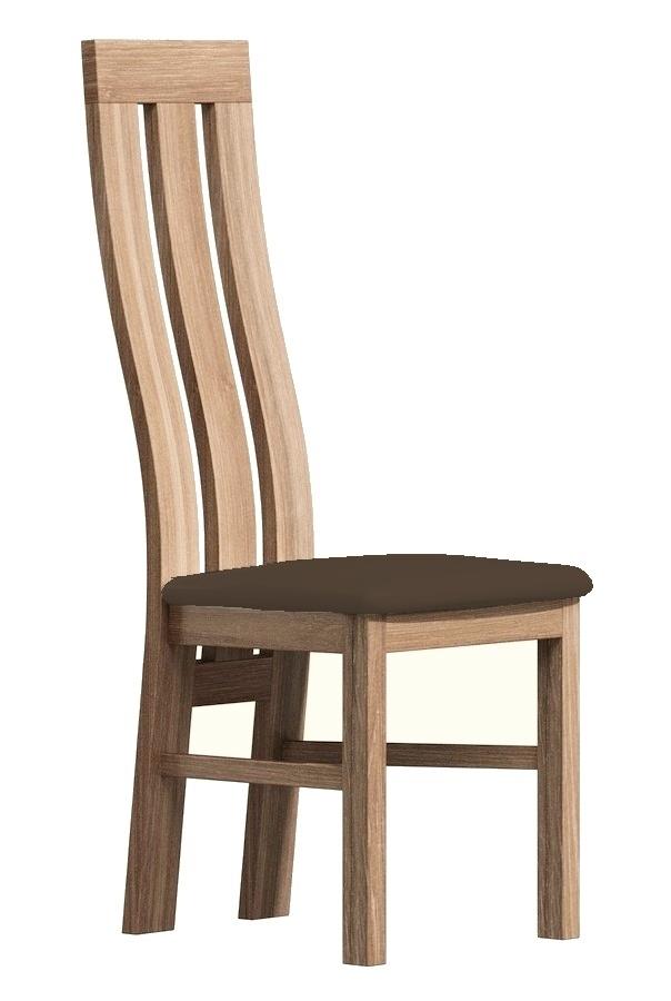 Čalúnená stolička II dub sanremo/Victoria 36